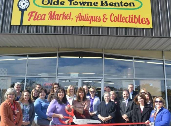 6. Olde Towne Benton Flea Market