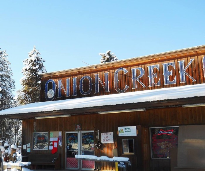 10. Onion Creek General Store, Colville