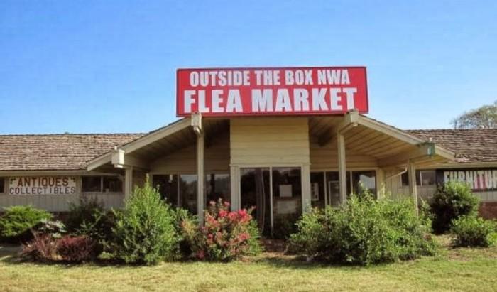 21. Outside The Box Flea Market