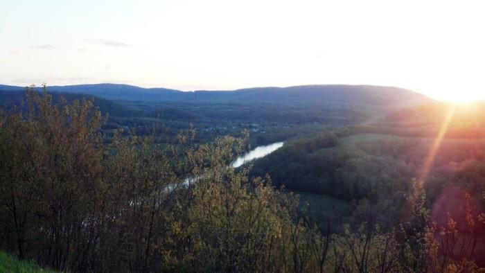 panorama atthe peak
