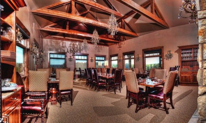 The Canyon Dining Room, The Prairie Club, Valentine