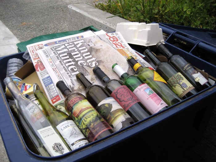 7. You may start recycling.
