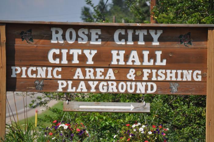 3) Rose City