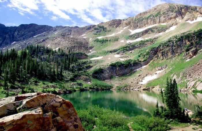 8) Secret Lake