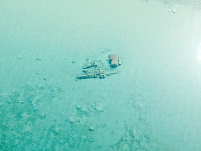 2) It is not uncommon to discover century old shipwrecks after the the thaw of a long winter.