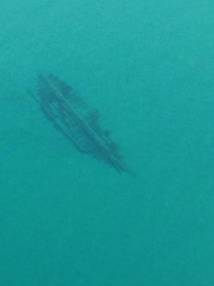 4) This is believed to be a 121 foot vessel that sank around the 1850s.