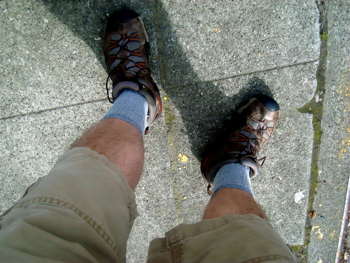 10. Worn shorts when it was 50 degrees out