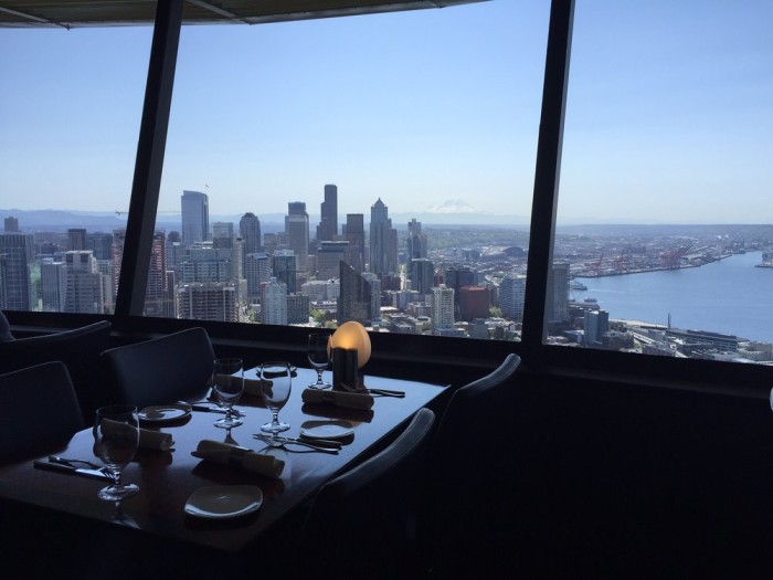 1. SkyCity at the Space Needle
