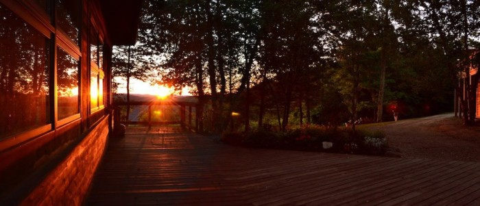 smokeys sunset