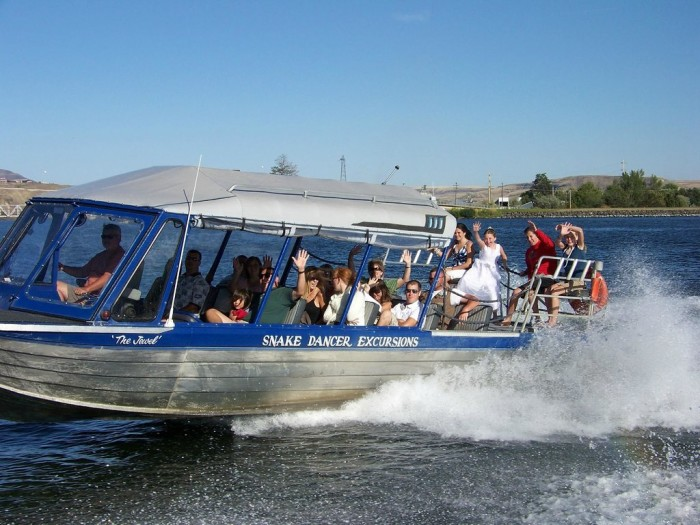 Saturday: Head out for a Jet Boat Tour on the Snake River by Clarkston