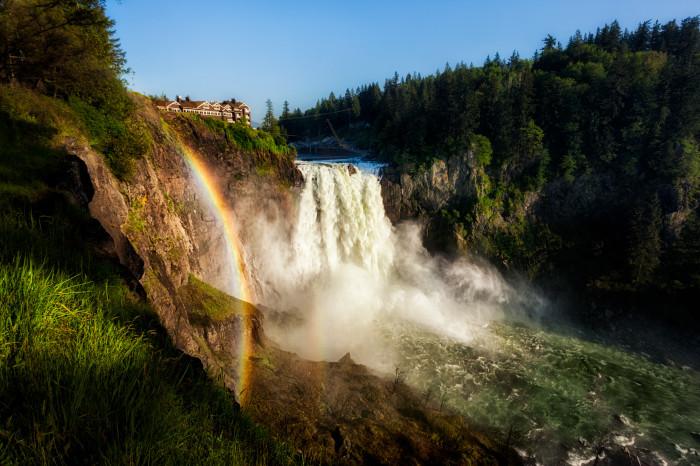 10. Snoqualmie Falls