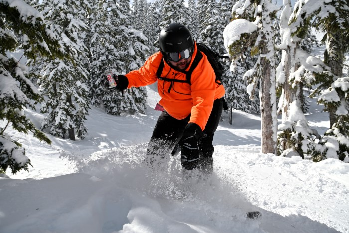 2. ...or skiing, snowboarding, or even biking!