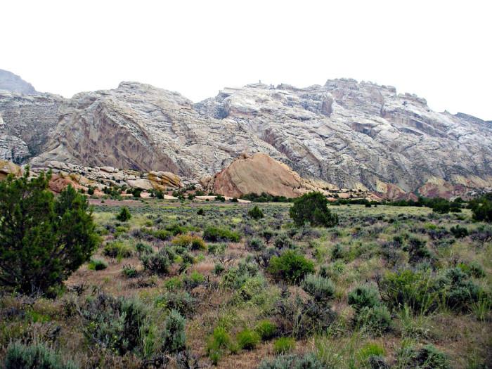 18) Split Mountain
