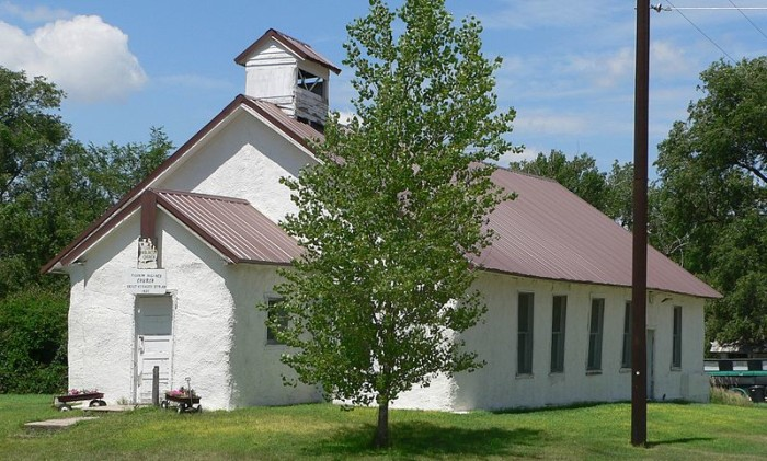 The Country's First Straw Bale Church