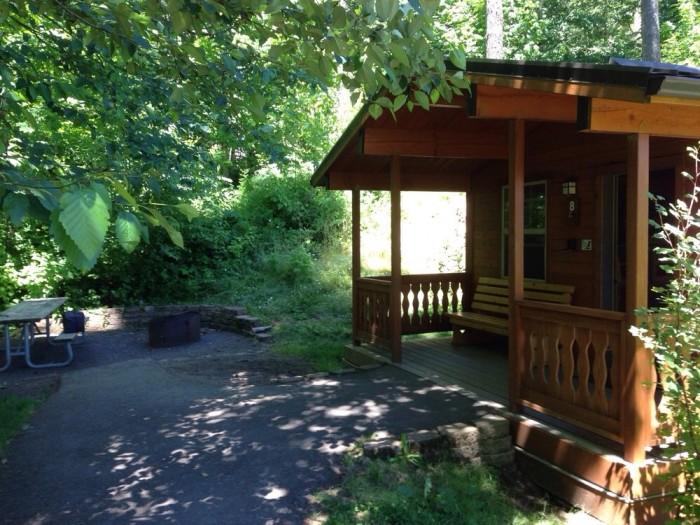 """4) L.L. """"Stub"""" Stewart State Park, West of Portland"""