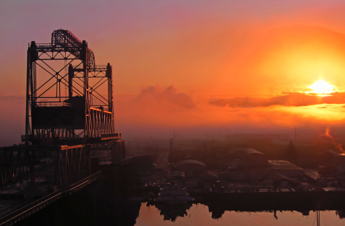 3. Tacoma never looked so heavenly at dawn.