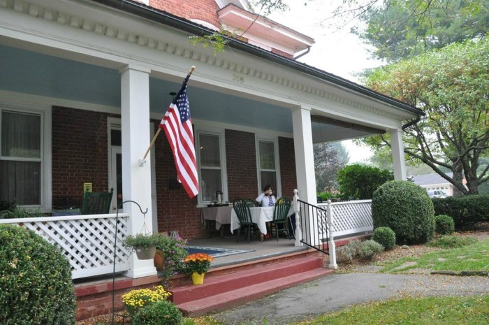 1. The James Wylie House in White Sulphur Springs