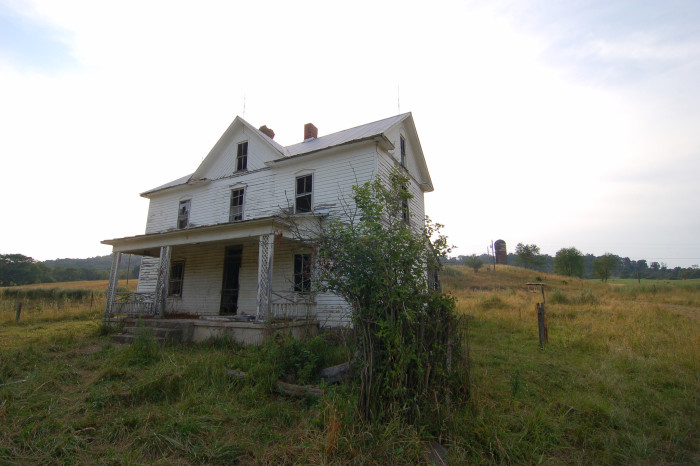 1. This old abandoned farmhouse in Inkerman (Hardy County)