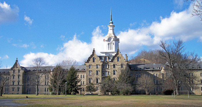 9. If you're feeling brave, take a tour of the Trans-Allegheny Lunatic Asylum.