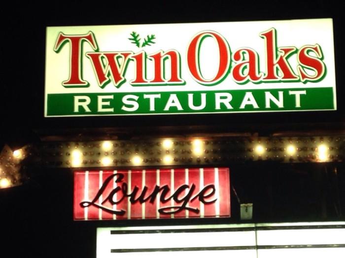 7. Twin Oaks Restaurant in Bridgeport