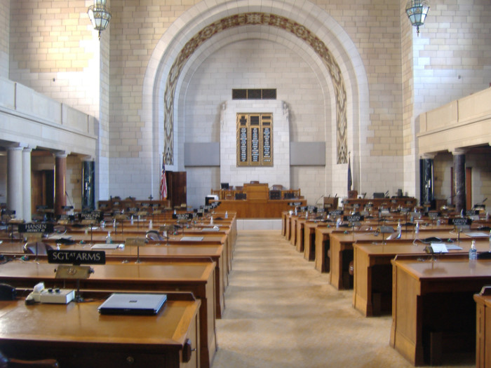 First State with a Unicameral, Nonpartisan Legislature