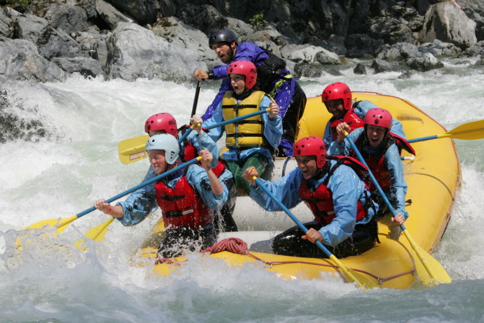 9. And white water rafting or tubing!