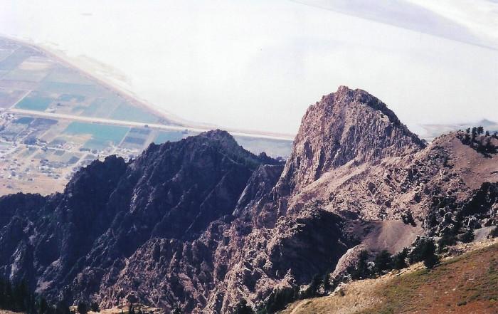 7) Willard Peak