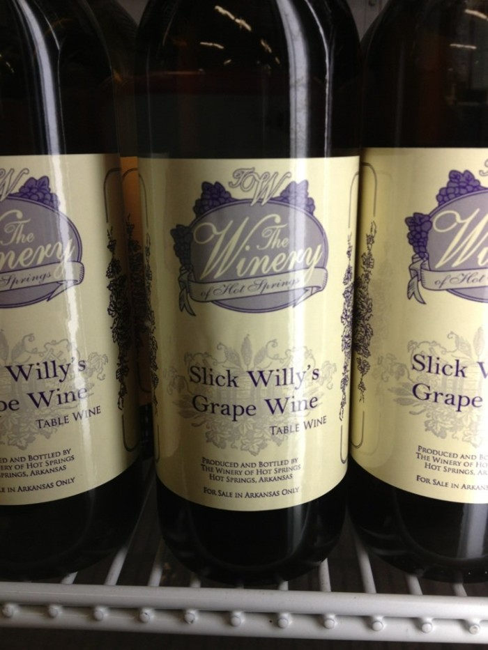 10. The Winery of Hot Springs