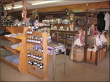 5. The general store at Yokum's Vacationland at Seneca Rocks
