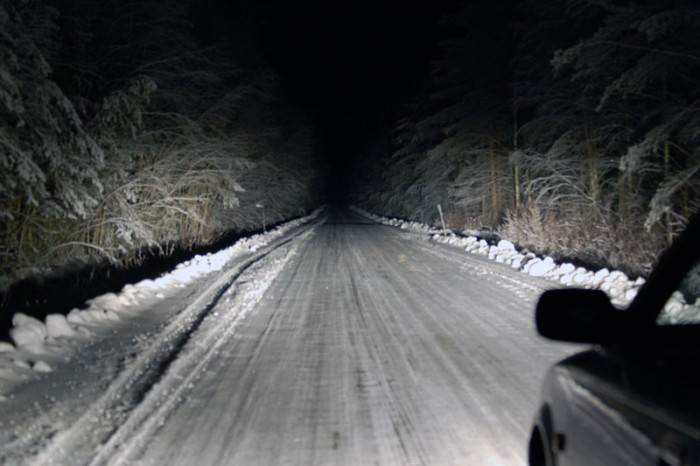 6. You know how to drive in the winter.