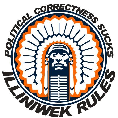 4. People who just won't let Chief Illiniwek go