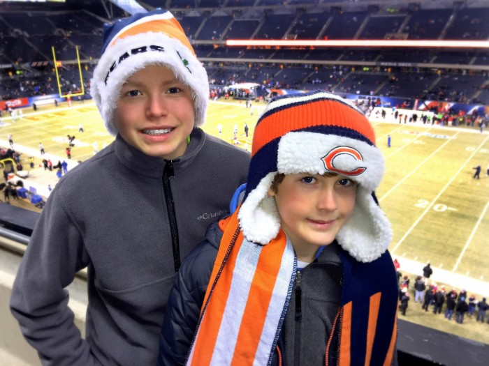 1. Rooting for the Bears