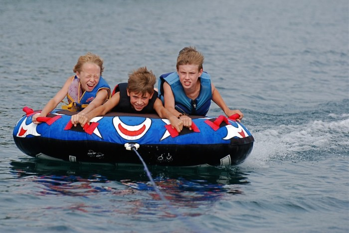 4. Refusing an invite to go tubing