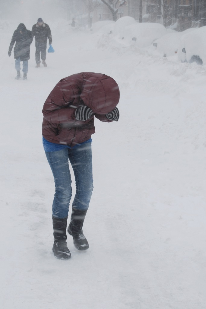 """5. Saying """"I can't go out because it's snowing"""""""