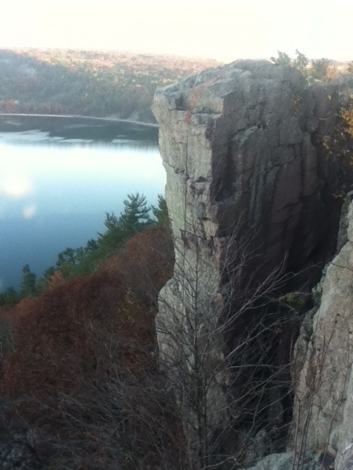 1. Devil's Lake State Park (Baraboo)