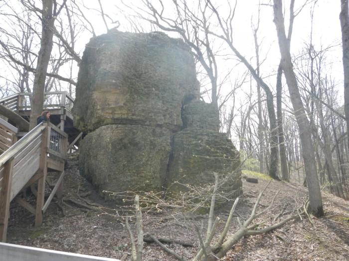 2. Rock Cut State Park (Loves Park)