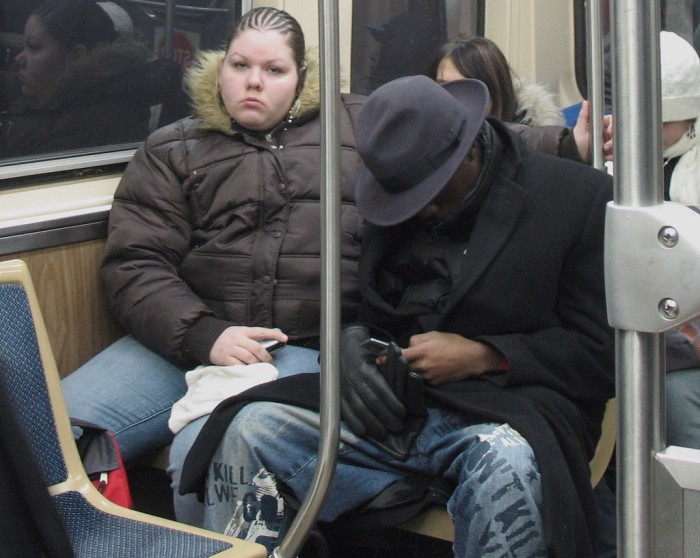 8. We co-exist with some interesting people on public transportation