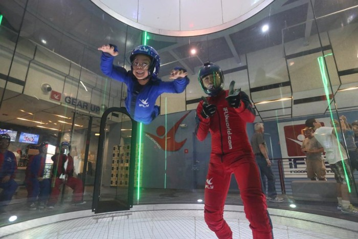 2. iFly (Chicago, Rosemont, Naperville)
