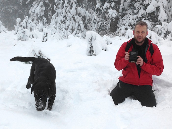 5. Not enjoying a fresh snowfall