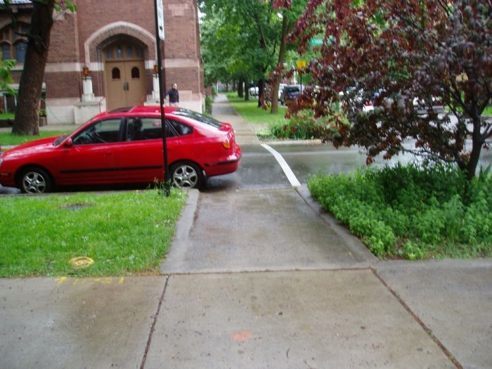 3. We can skillfully park and drive correctly