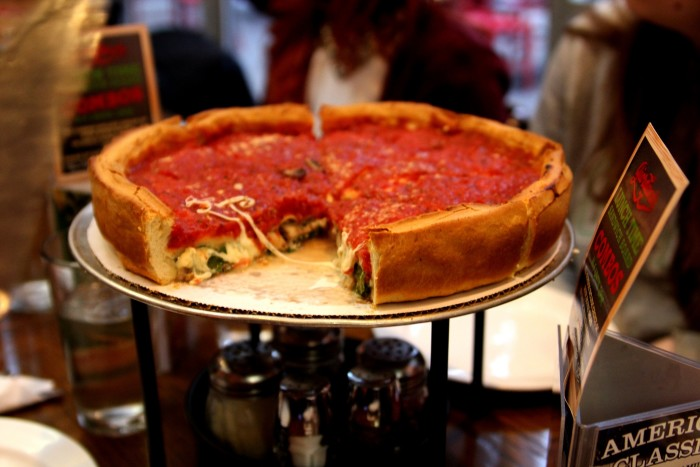 7. Our pizza actually tastes good