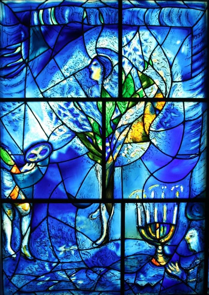 2. Chagall Windows, Art Institute of Chicago