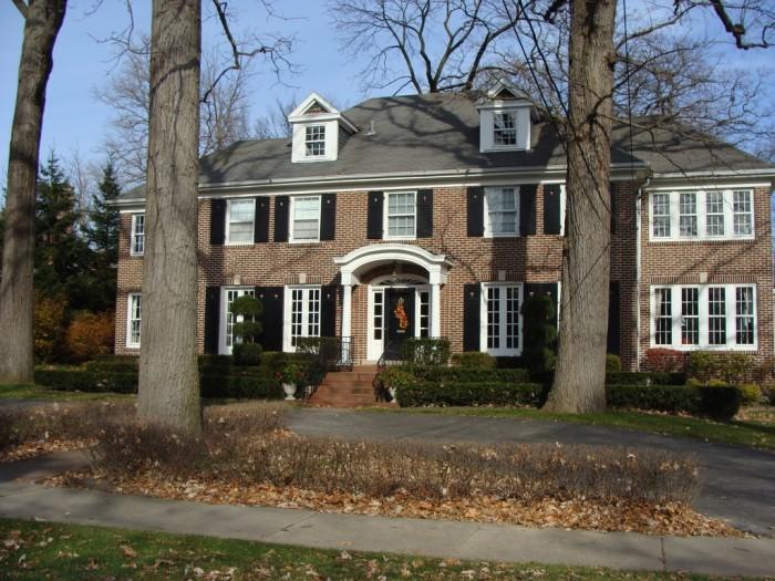 4. Home Alone House (Winnetka)