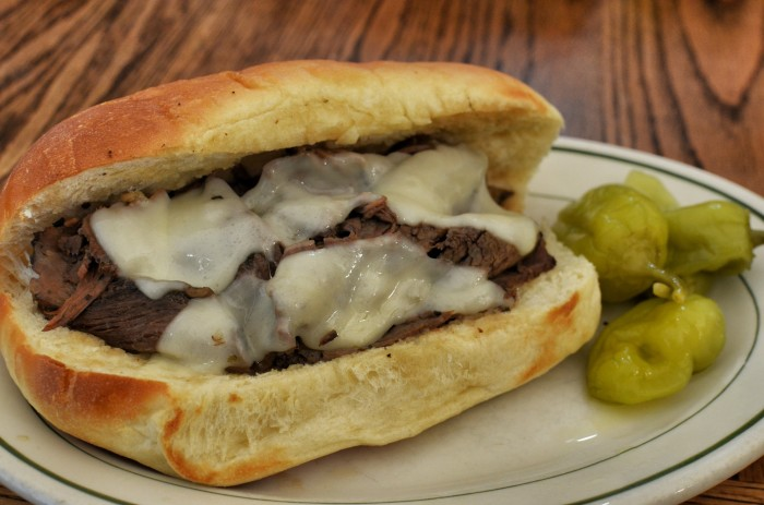 4. They would say this Italian beef sandwich is too dry.