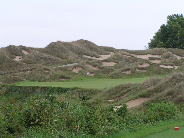 4. Working at a golf course, like Whistling Straits