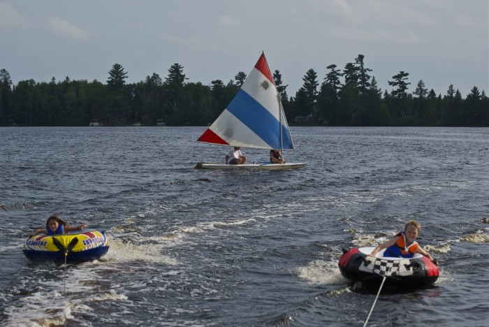 3. Be prepared to be out on the water...a lot