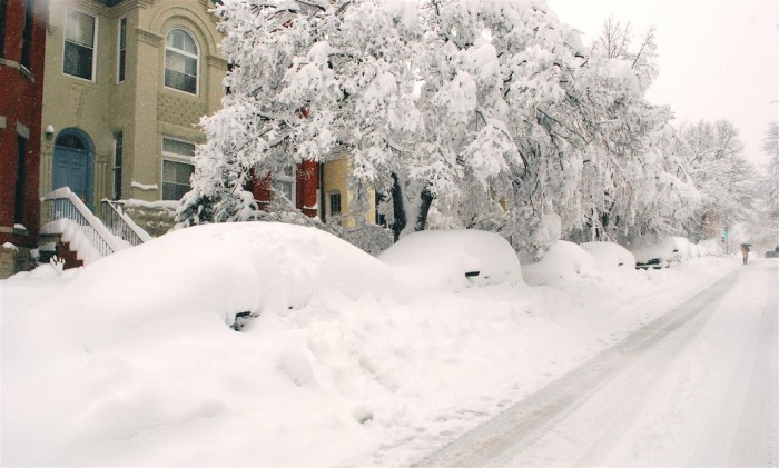 8. You'll never get away with not getting to work because of too much snow
