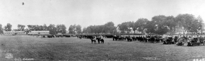 4. ROTC Inspection at the University of Illinois, Urbana-Champaign (1919)