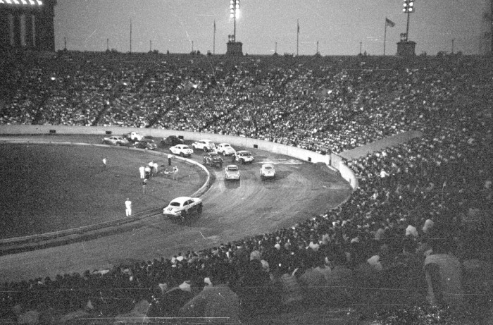 5. Stock car racing at Soldier Field, Chicago (1951)