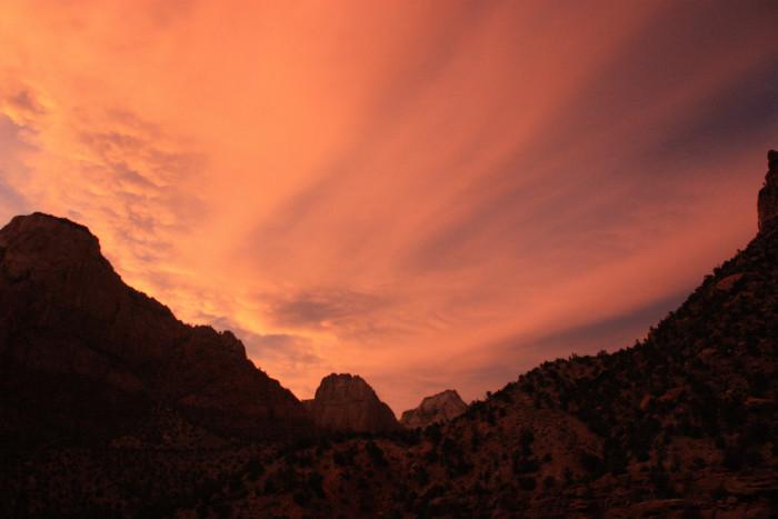 9) Zion National Park